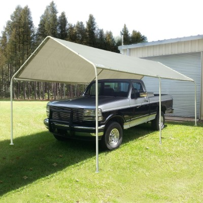 Quictent Heavy Duty Carport 20_x10_, Gray