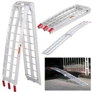 Yaheetech Foldable Aluminum Loading Ramp, 7.5 Feet