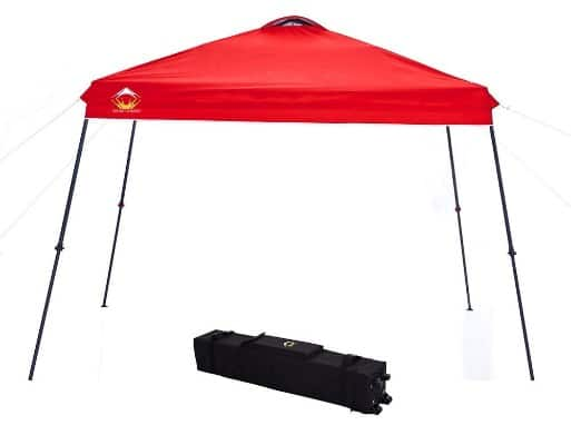 CROWN SHADES Instant Folding Car Canopy, 11ft. x 11ft.