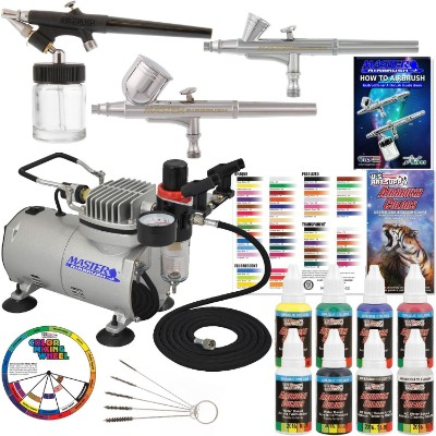 Master Airbrush Professional 3 Airbrush Kit