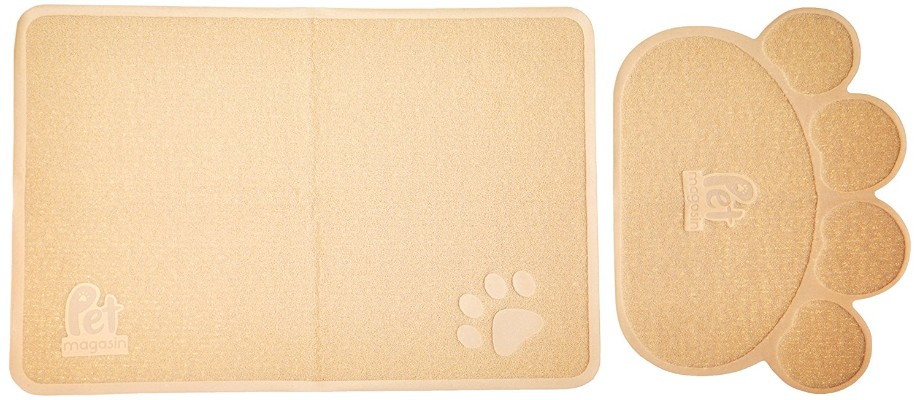 Pet Magasin Cat Litter Mats [2-Pack] - Durable Pet Litter Trapping Rugs for Cats