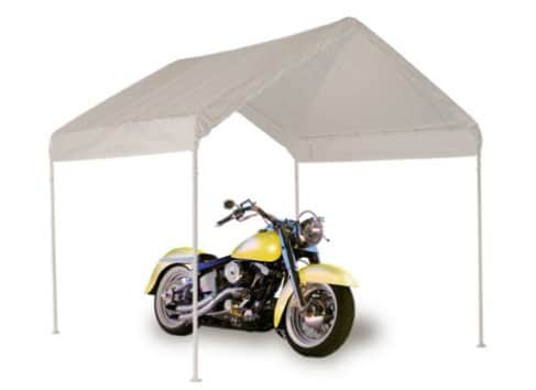 ShelterLogic 4-Leg Canopy, 10x10 1-3_8inches White