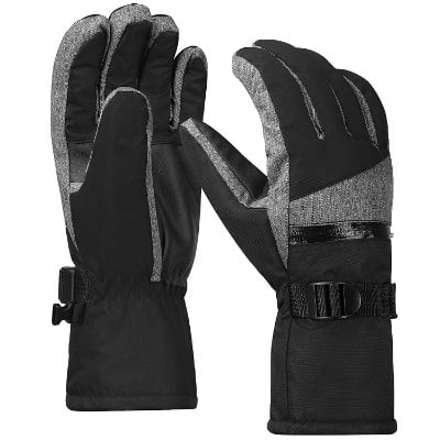 Terra Hiker Men's Waterproof Microfiber Gloves