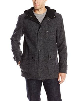 Kenneth Cole New York Tweed Coat for Men