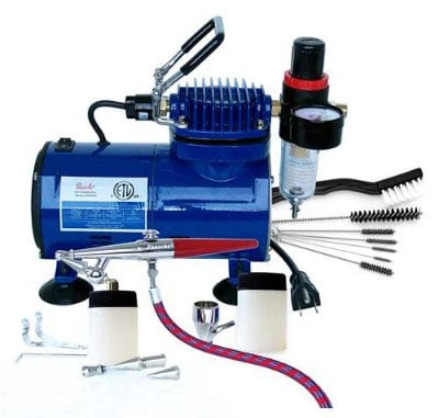 Paasche H-100D Single Action Airbrush Kit