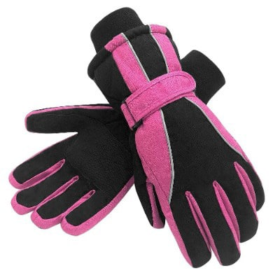 Terra Hiker Waterproof Microfiber Women Winter Ski Gloves