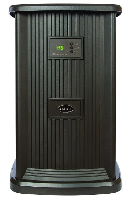 AIRCARE EP9 800 Digital Whole-House Pedestal-Styles Evaporative Humidifier, Espresso