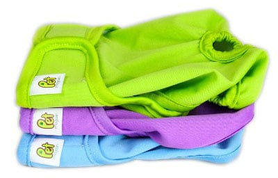 Luxury Reusable Male Dog Diapers (3-Pack)