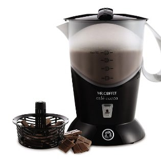 Mr. Coffee BVMC-HC5 Cafe Cocoa Hot Chocolate Maker, Black