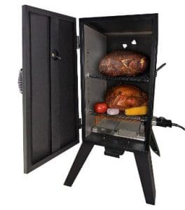 Smoke Hollow 26142E 26-Inches Electric Smoker with Adjustable Temperature Control