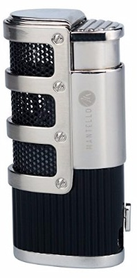 Mantello Catador Triple Jet Flame Torch Lighter with Cigar Punch Cutter