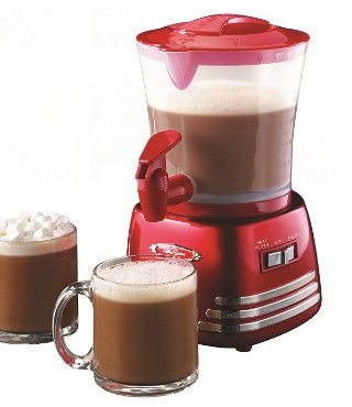 Nostalgia HCM700RETRORED Retro Series 32-Ounce Hot Chocolate Maker