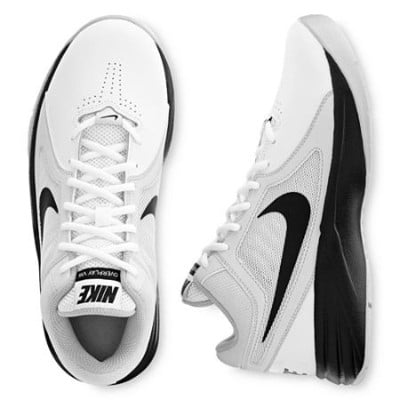 Women's Nike Overplay VIII Basketball Shoe White:Pure Platinum:Black Size 7 M US