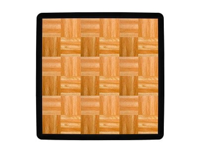 1:2-inch Interlocking Modular Grid-Loc Dance Tiles, 9-Piece, Oak