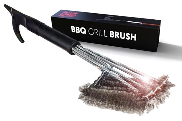 4-in-1 Best Grill Brush, 18-inch
