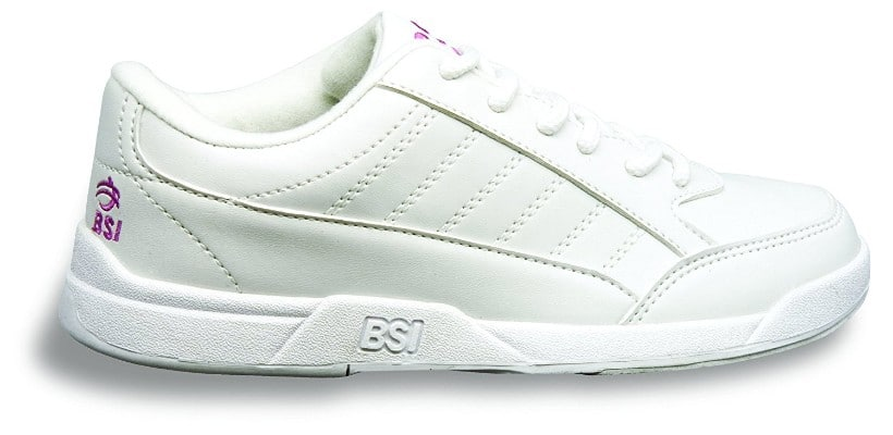 BSI Girl's Basic #432 White Bowling Shoes