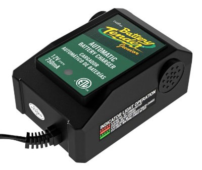 Battery Tender 021-0123 Battery Tender Junior 12V, 0.75A Battery Charger: Maintainer