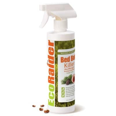 Bed Bug Killer EcoRaider 16 Oz, Fast and Sure Kill with Extended Residual Protection