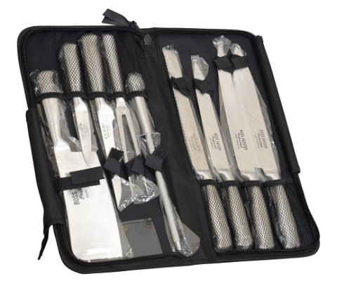 Ross Henery Professional Eclipse Premium Stainless Steel 9 Piece Starter Chef's Knife