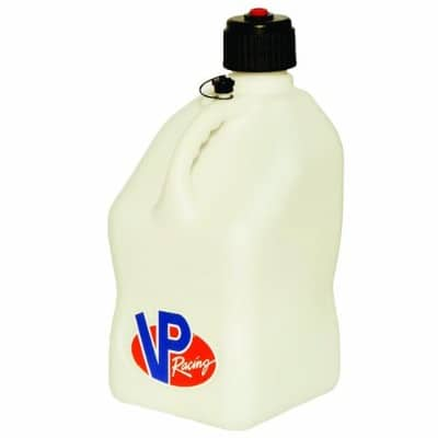 VP Racing Fuels 3522 Motorsport Jug, 5 Gallon Capacity, White
