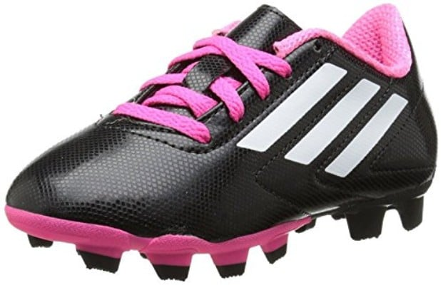adidas Performance Conquisto Firm-Ground J Soccer Cleat (Little Kid:Big Kid)