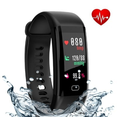 Eway Fitness Tracker Fitness Watch With Color Screen
