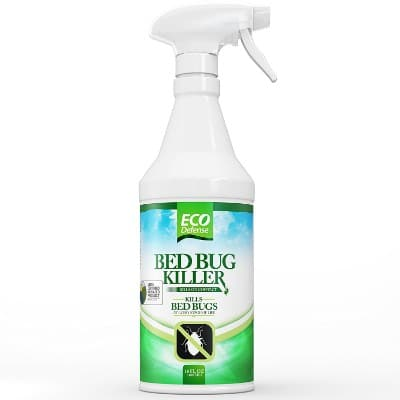 Eco Defense Bed Bug Killers, Natural Organic Formula Fastest, 16 oz.
