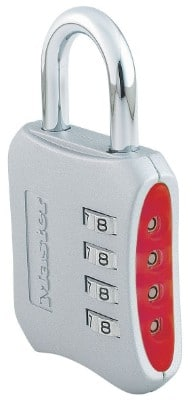 Master Lock Set Your Own Combination Lock, 2-inch Wide