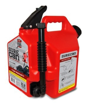 SureCan 2.2-Gallon Fuel Gas Can