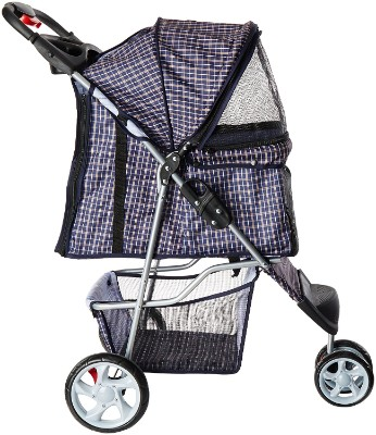Paws & Pals 3-Wheeler Elite Jogger Pet Stroller, Blue