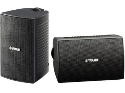 Yamaha NS-AW194BL All-Weather Speakers, Black