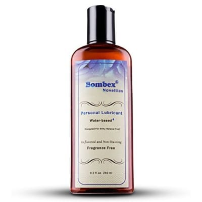 BOMBEX Unflavored Water Based Personal Lubricant 8.2 Fl. Oz.