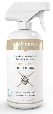 Bye-Bye Bed Bugs - Powerful, Natural Bedbug Killer Spray - Home Defense Treatment (16 Oz)