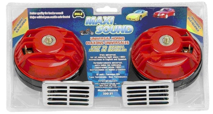 Wolo (320-2T) Maxi Sound Universal Car Horn