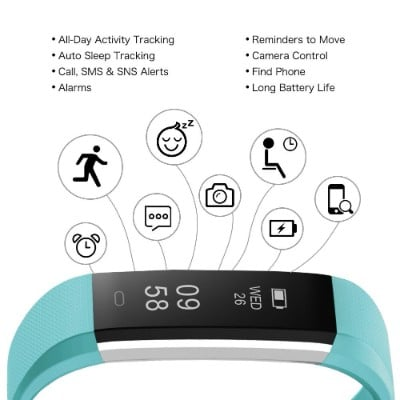 Letscom Water Resistant Activity Tracker