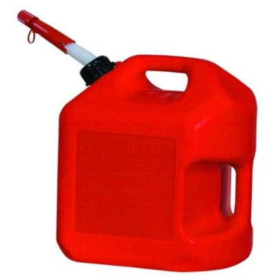 Midwest Model 5600 Spill Proof Gas Can, 5- Gallon