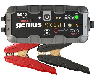 NOCO Genius Boost Plus GB40 1000 Amp 12V Battery Maintainer: Charger