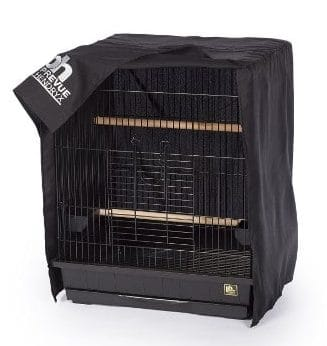 Prevue Hendryx Pet Products Universal Medium Bird Cage Cover, Black