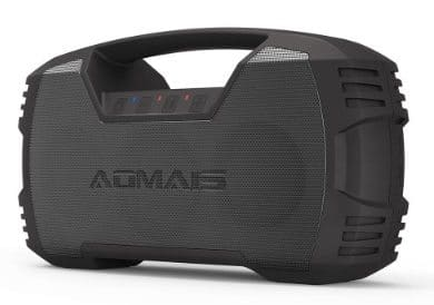 AOMAIS GO Waterproof Portable Indoor:Outdoor Bluetooth Speaker, 30W