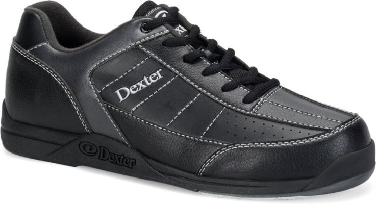 Dexter Youth Ricky III Junior Bowling Shoes, Black:Alloy