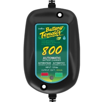 Battery Tender 800 is a SuperSmart Battery Maintainer, Charger