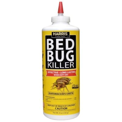 Harris Bed Bug Killer, Diatomaceous Earth Powder 1:2 LB, Fast Kill