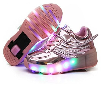 Nsasy YCOMI LED Light UP Roller Shoes