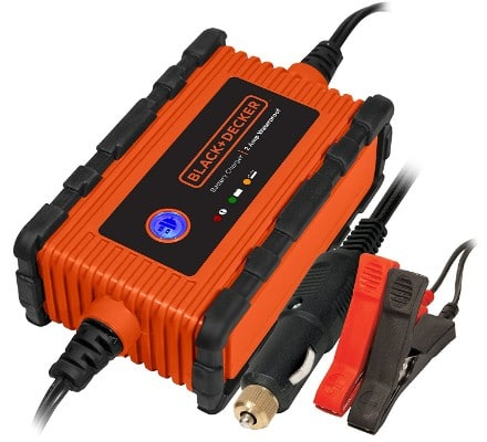 BLACK+DECKER BC2WBD 2 Amp Waterproof Automatic Battery Charger : Maintainer
