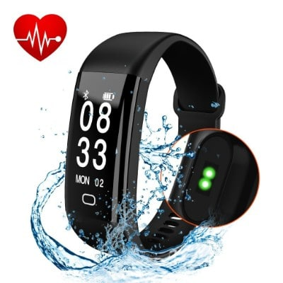 Cafar Fitness Tracker, Waterproof Activity Tracker