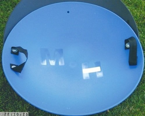MH Sleds Heavy Duty Snow Sled Saucer (Blue)