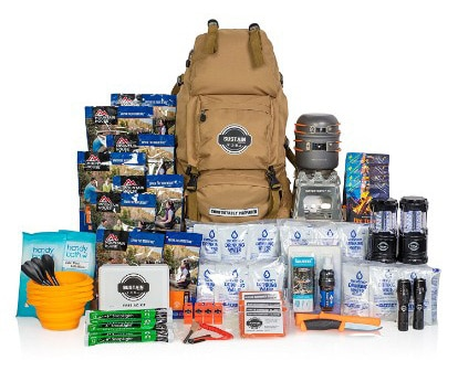 Sustain Supply Co. Premium Family 4 People 72Hours Emergency Survival Kit
