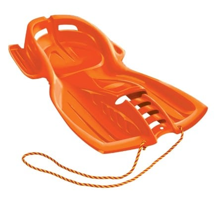ESP 42-inch Snow Raider Racer Sled - Orange 1061