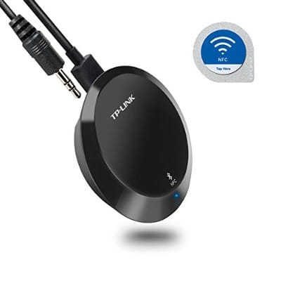 TP-Link NFC-Enabled Bluetooth 4.1 Receiver, Wireless Audio Adapter Streaming Music