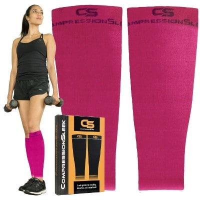 Top Calf Compression Sleeve Men Women, Perfect for Running, Training, Travel, Cycling